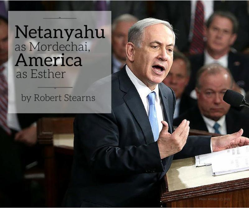 Netanyahu as Mordechai
