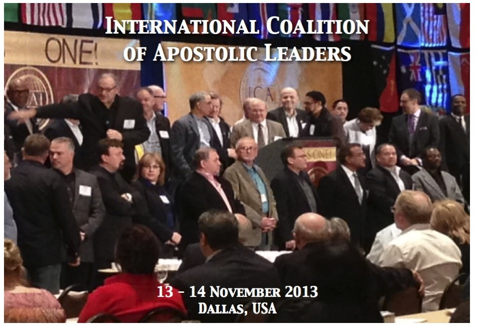 International Coaltion of Apostolic Leaders - House of Ariel