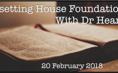 Resetting House Foundations With Dr Heard