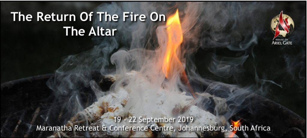 The Return Of The Fire On The Altar-Logo