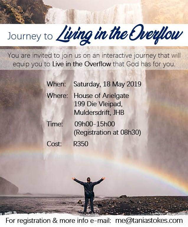 JOURNEY TO LIVING IN THE OVERFLOW – JOURNEY 1: WORKSHOP 3