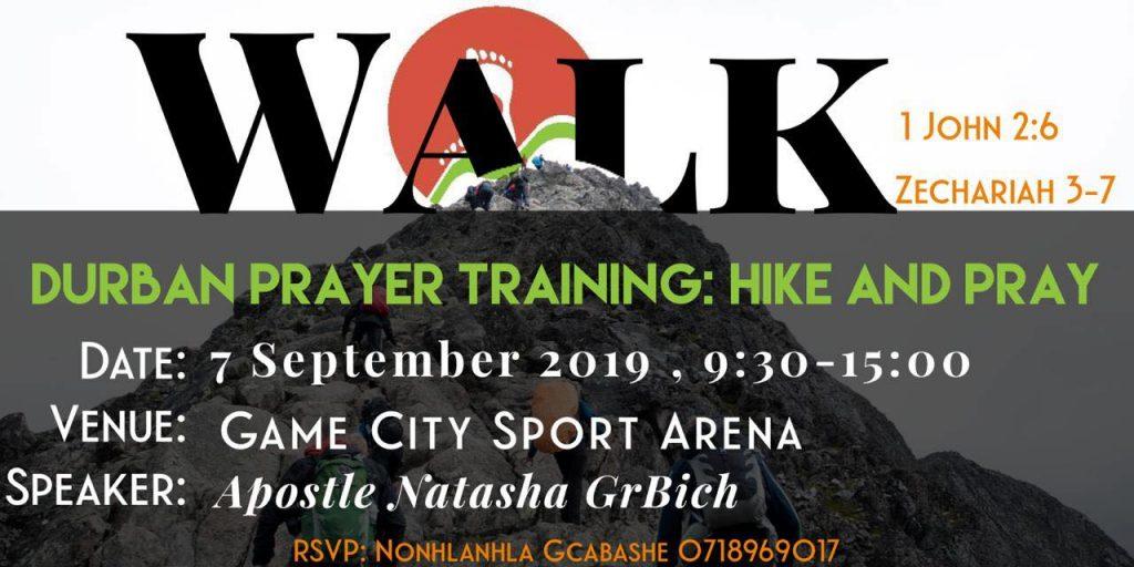 Prayer Training - Hike & Pray