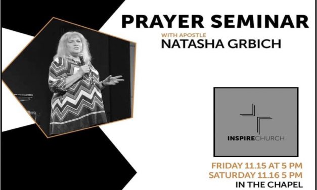 Prayer Seminar – Inspire Church Houston, USA