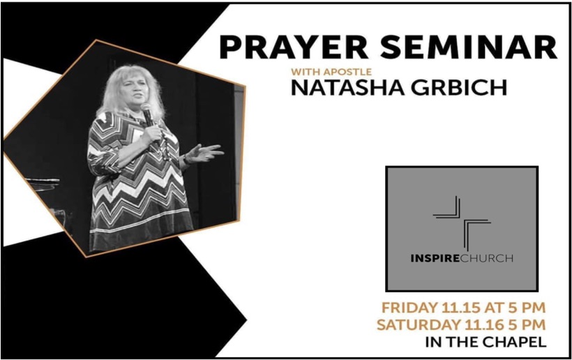 Prayer Seminar – Inspire Church Houston, USA