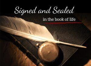 Yom Kippur - Signed And Sealed